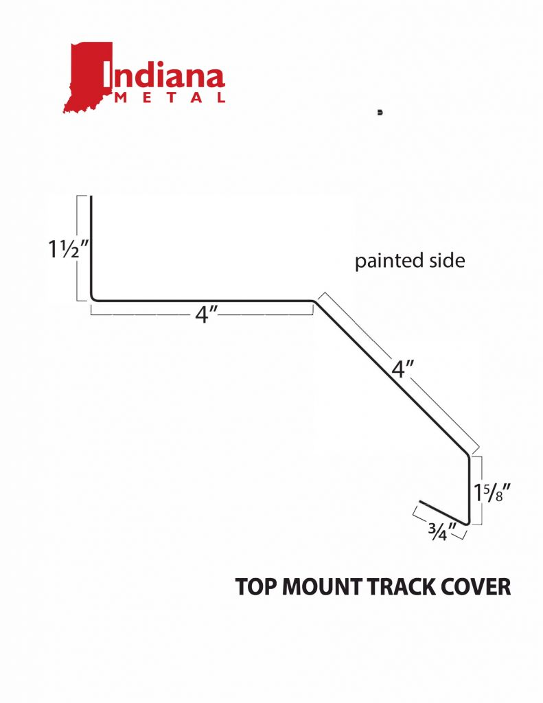 29 ga top-mount-track-cover